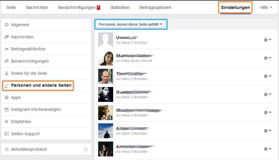 Fans einer Facebook-Seite sehen - Schritt-für-Schritt-Anleitung