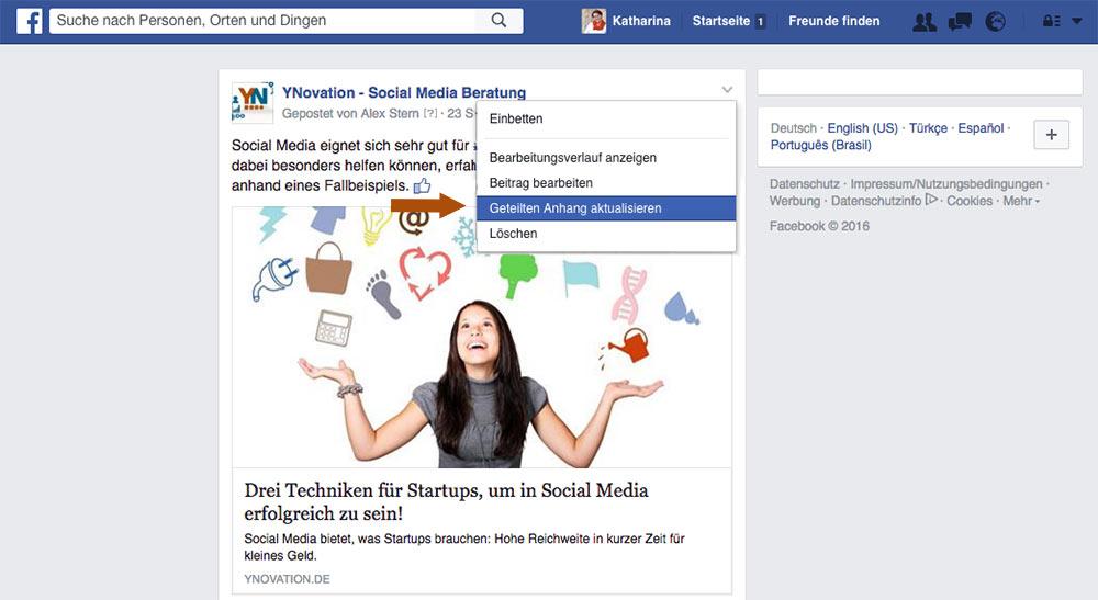 Fünf nützliche Facebook-Funktionen, die sich verstecken - YNovation