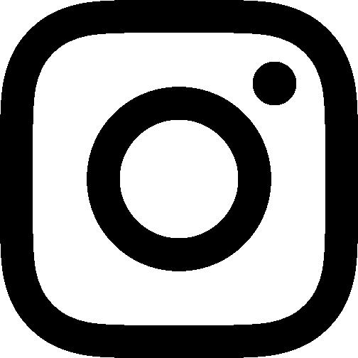 Instagram glyph icon schwarz