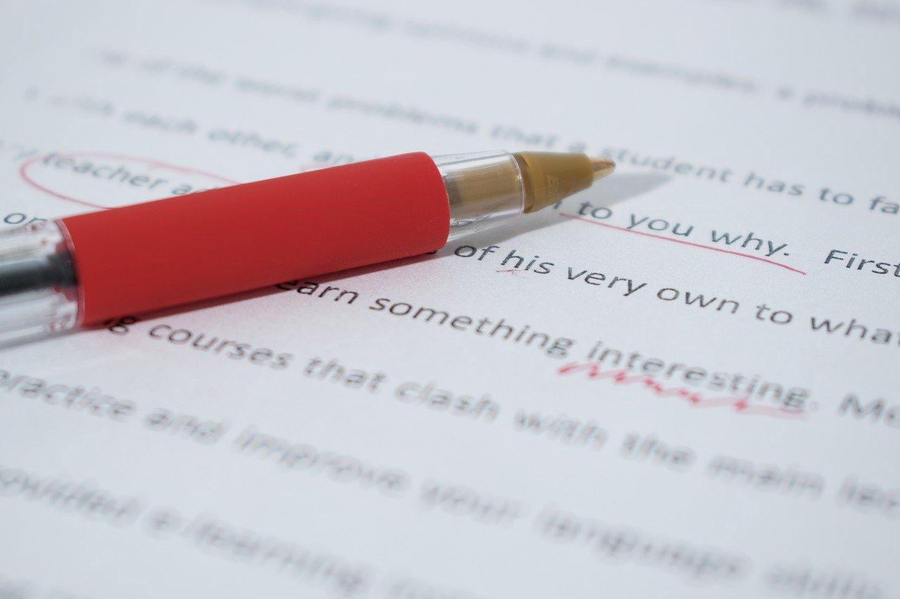 Blog Grammatik Rechtschreibung Formatierung